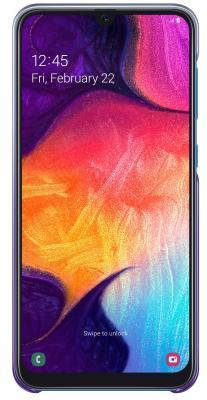 Чехол (клип-кейс) Samsung для Samsung Galaxy A50 Gradation Cover фиолетовый (EF-AA505CVEGRU) клип кейс samsung dual layer ef pj330 для galaxy j3 2017 голубой