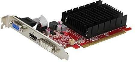 Видеокарта PowerColor AMD Radeon R5 230 AXR5 230 2GBK3-HE PCI-E 2048Mb DDR3 64 Bit Retail видеокарта powercolor pci e ax5450 2gbk3 shv7e amd radeon hd 5450 2048mb 64bit ddr3 650 800 dvix1 hdmix1 crtx1 hdcp ret