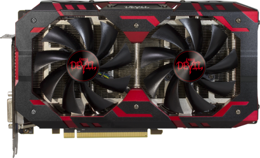 Видеокарта PowerColor Radeon RX 590 Red Devil OC PCI-E 8192Mb GDDR5 256 Bit Retail (AXRX 590 8GBD5-3DHV2/OC)