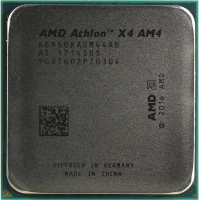 Фото - Процессор AMD Athlon X4 950 AM4 (AD950XAGABMPK) (3.5GHz/100MHz) Tray+Cooler процессор amd athlon 200ge am4 yd200gc6m2ofb 3 2ghz 100mhz radeon vega 3 tray