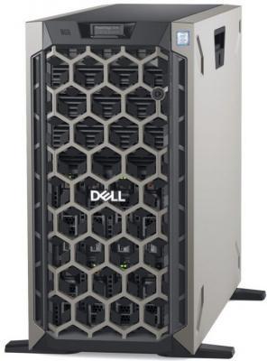 Сервер Dell PowerEdge T440 2x3106 2x16Gb x16 1x1.2Tb 10K 2.5 SAS H730p FP iD9En 1G 2P 2x495W 3Y NBD (T440-5949)