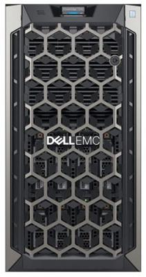 Сервер Dell PowerEdge T340 1xE-2124 1x16GbUD x8 1x1.2Tb 10K 2.5in3.5 SAS RW H330 FH iD9Ex 1G 2P 1x495W 3Y NBD (T340-4744)