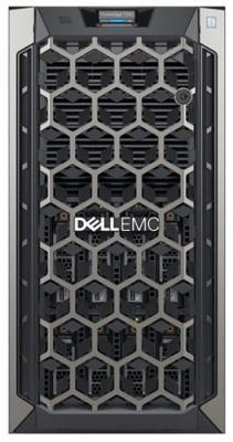 Сервер Dell PowerEdge T340 1xE-2126G 1x16GbUD x8 1x1.2Tb 10K 2.5in3.5 SAS RW H330 FH iD9Ex 1G 2P 1x495W 3Y NBD (T340-4751)