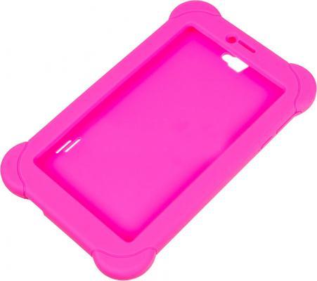 Чехол Digma для Digma Plane 7565N силикон розовый цены онлайн