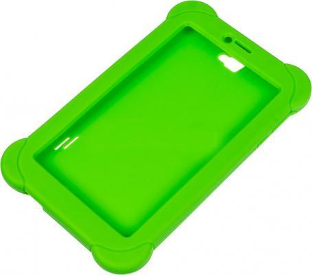 Чехол Digma для Digma Plane 7565N силикон зеленый цены онлайн