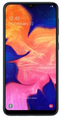 Смартфон Samsung Galaxy A10 32 Гб черный (SM-A105FZKGSER) смартфон samsung galaxy j1 2016 8 гб черный sm j120fzkdser