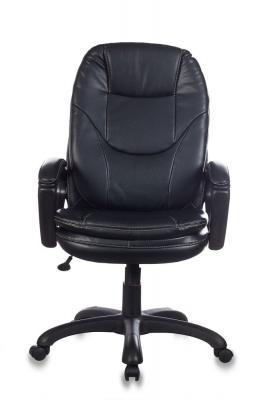 Картинка для Кресло руководителя Бюрократ CH-868LT/#B черный искусственная кожа
