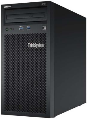 Сервер Lenovo ThinkSystem ST50 1xE-2124G 1x8Gb x8 (7Y48A008EA) сервер lenovo x3650 m5 5462g2g