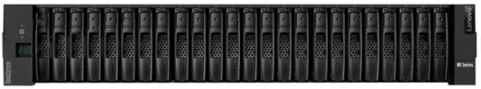 Система хранения Lenovo ThinkSystem DE4000H SAS Hybrid Flash Array 2U24 SFF (7Y75A000WW) адаптер hba lenovo thinksystem 430 8e sas sata 12гбит с mini sas hd sff 8644 7y37a01090