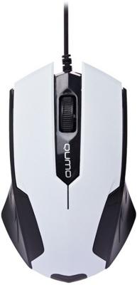 Мышь Qumo Office M14 [24131] {проводная, оптическая, белая} цена и фото