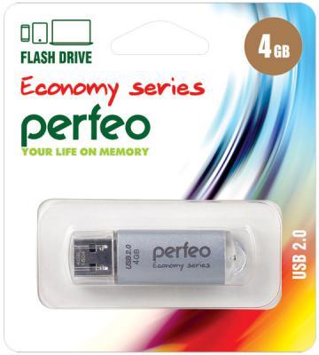 Фото - Флешка 4Gb Perfeo E01 USB 2.0 серебристый PF-E01S004ES флешка 8gb perfeo e01 usb 2 0 серебристый pf e01s008es