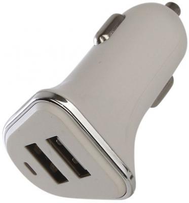 Фото - Автомобильное зарядное устройство Perfeo I4616 2.1/1А серый зарядное