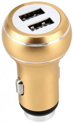 Фото - Автомобильное зарядное устройство Perfeo I4610 2.1/1А золотой зарядное