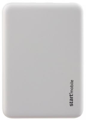Внешний аккумулятор Power Bank 5000 мАч СТАРТ ROOK белый P05PC-W