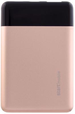 лучшая цена Внешний аккумулятор Power Bank 5000 мАч СТАРТ EAGLE черный розовый P05MC-G