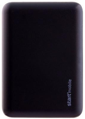 Внешний аккумулятор Power Bank 10000 мАч СТАРТ ROOK черный P10PC-B внешний аккумулятор power bank 4000 мач cbr cbp 5040 черный