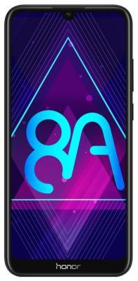 Смартфон Huawei Honor 8A 32 Гб черный (JAT-LX1) смартфон honor 8a gold 2 32