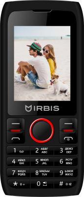 Мобильный телефон Irbis SF54 черный красный телефон