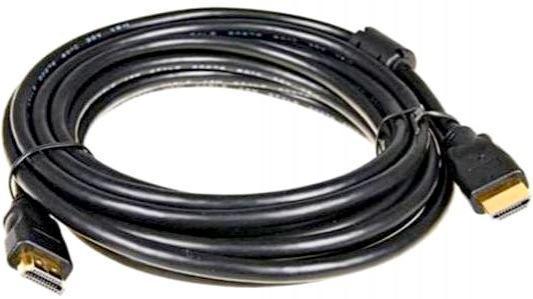 Фото - Кабель HDMI 3м 5bites APC-200-030F круглый черный кабель hdmi 3м 5bites apc 200 030f круглый черный