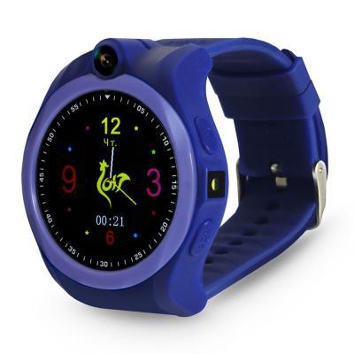 Умные часы детские GiNZZU® GZ-507 violet 1.54 Touch/Геолокация по WI-FI/GPS/LBS/Гео-зоны/Кнопка SOS/nano-SIM из ремонта детские умные часы ginzzu gz 521 brown