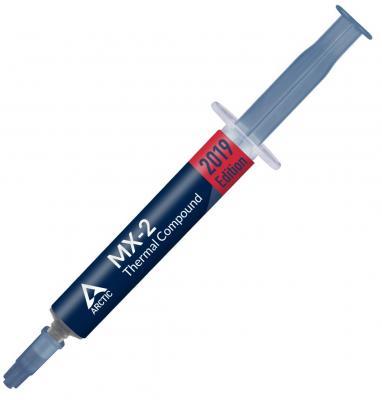 Термопаста MX-2 Thermal Compound 8-gramm 2019 Edition (ACTCP00004B) термопаста arctic cooling mx 2 thermal compound 4гр