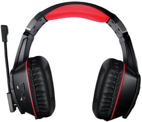 Qumo Protector GHS 0015, стереогарнитура, подсветка, USB+2*3,5 jacks