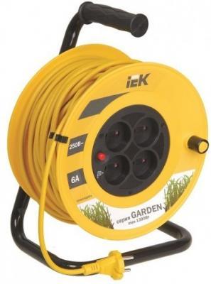 Удлинитель IEK WKP23-06-04-30 30 м 4 розетки