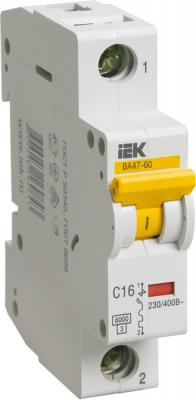 Картинка для Iek MVA41-1-032-C Авт.выкл. ВА 47-60 1Р 32А 6 кА х-ка С ИЭК