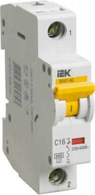 Картинка для Iek MVA41-1-040-C Авт.выкл. ВА 47-60 1Р 40А 6 кА х-ка С ИЭК