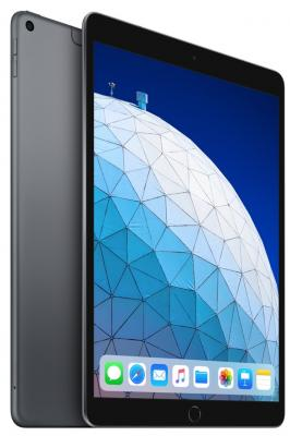 Планшет Apple iPadAir 2019 10.5 256Gb Space Gray Wi-Fi Bluetooth LTE 3G iOS MV0N2RU/A планшет apple ipad pro mtxt2ru a a12x bionic 4gb 512gb 11 ips retina qsxga wi fi bt 7 12mpx ios space grey