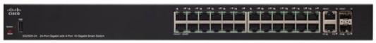 Cisco SB SG250X-24-K9-EU Коммутатор SG250X-24 24-Port Gigabit Smart Switch with 10G Uplinks cisco srw224g4 k9 eu