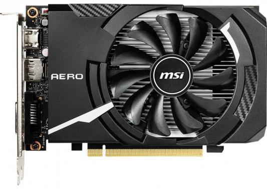 Видеокарта MSI PCI-E GTX 1650 AERO ITX 4G OC nVidia GeForce GTX 1650 4096Mb 128bit GDDR5 1485/8000 DVIx1/HDMIx1/DPx1/HDCP Ret видеокарта gigabyte pci e gv n75toc 2gl nvidia geforce gtx 750ti 2048mb 128bit gddr5 1020 5400 dvix1 hdmix2 dpx1 hdcp ret