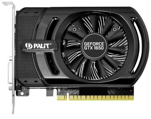 colorful gtx1050ti mini oc 4g gddr5 128bit pci express game video card graphics card 10 3 Видеокарта Palit PCI-E PA-GTX1650 STORMX OC 4G nVidia GeForce GTX 1650 4096Mb 128bit GDDR5 1485/8000 DVIx1/HDMIx1/HDCP Ret