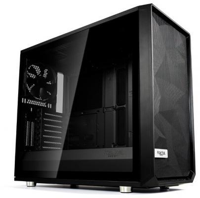 Корпус E-ATX Fractal Meshify S2 Blackout TG Dark Без БП чёрный (FD-CA-MESH-S2-BKO-TGD)