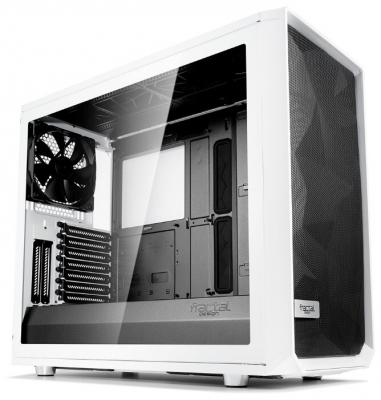 Корпус Fractal Design Meshify S2 White TG белый без БП E-ATX 5x120mm 4x140mm 2xUSB3.0 audio bott PSU
