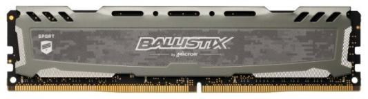 Оперативная память 8Gb (1x8Gb) PC4-24000 3000MHz DDR4 DIMM CL16 Crucial BLS8G4D30BESBK оперативная память 16gb 4x4gb pc4 24000 3000mhz ddr4 dimm crucial blt4c4g4d30aeta