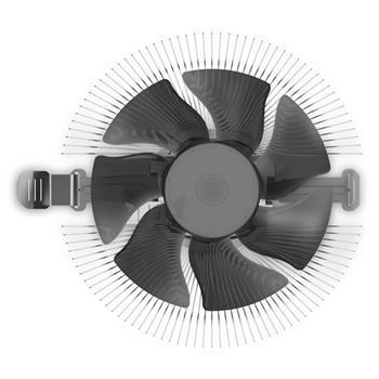 Cooler Master CPU cooler Z50, 85W, Al, 3pin, Full Socket Support RH-Z50-20FK-R1 кулер cooler master cpu cooler i50 pwm intel 115 84w al 4pin rh i50 20pk r1