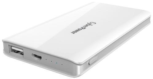 Внешний аккумулятор Power Bank 5000 мАч CyberPower CP5000PEG белый