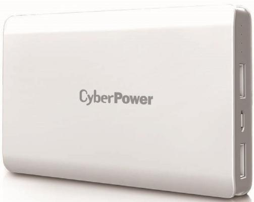 Фото - Внешний аккумулятор Power Bank 10000 мАч CyberPower CP10000PEG белый аккумулятор