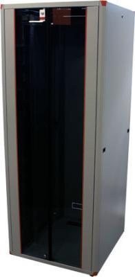 """все цены на Шкаф напольный EVOLINE 19""""42U800x1000 передняя дверь двустворчатая стекло с металлической рамой слева и справа, задняя дверь двустворчатая металлическая , цвет серый онлайн"""