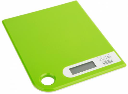 Весы кухонные DELTA КСЕ-16-39 зелёный цена