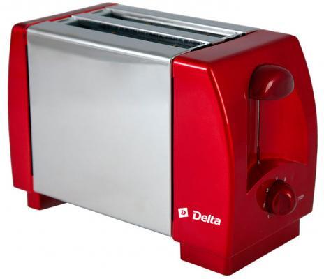 Тостер DELTA DL-96 бордовый цена