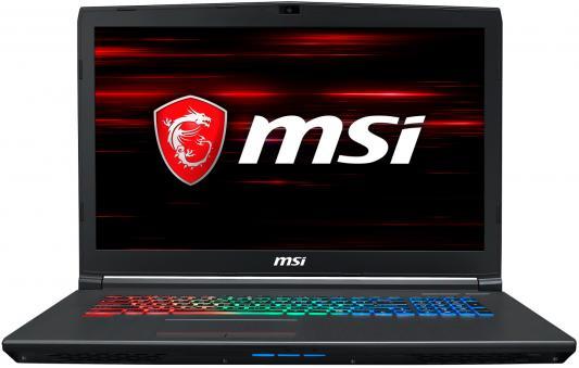 Ноутбук MSI GF72 8RD-093RU i7-8750H (2.2)/16G/1T+128G SSD/17.3FHD 120Hz AG/NV GTX1050Ti 4G/noODD/Win10 Black msi gl72m 7rdx black gl72m 7rdx 1488ru