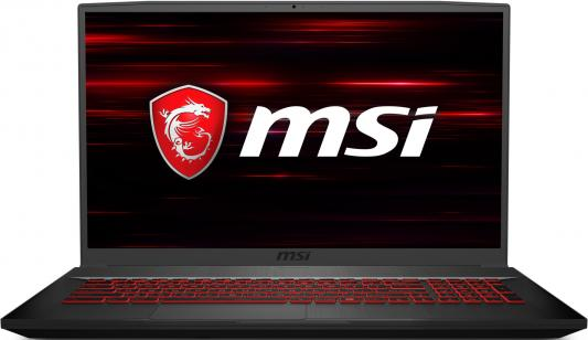 "Ноутбук MSI GF75 Thin 8RC-207XRU i7-8750H (2.2)/8G/1T+128G SSD/17.3""FHD IPS/NV GTX1050 4G/noODD/DOS Black"