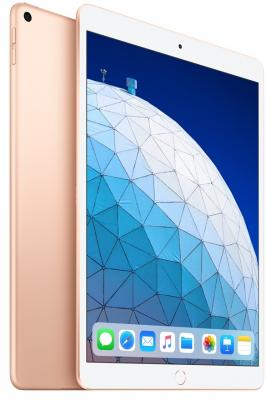 Планшет Apple iPad Air 2019 10.5 256Gb Gold Wi-Fi Bluetooth iOS MUUT2RU/A планшет apple ipad pro 12 9 256gb серебристый wi fi bluetooth ios mp6h2ru a