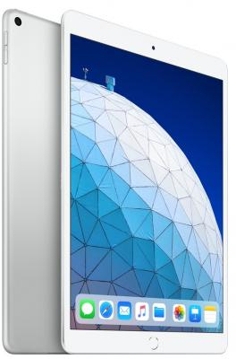 Планшет Apple iPad Air 2019 10.5 256Gb Silver Wi-Fi Bluetooth iOS MUUR2RU/A планшет apple ipad pro 12 9 256gb серебристый wi fi bluetooth ios mp6h2ru a