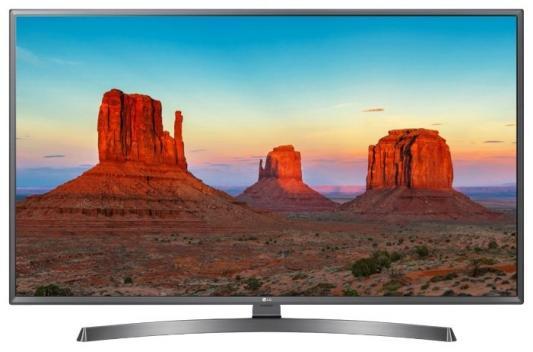 Телевизор LG 43UK6750PLD серебристый телевизор lg 55uk7500plc серебристый