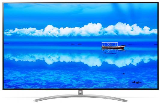 Телевизор LED LG 65 65SM9800PLA черный/коричневый/Ultra HD/100Hz/DVB-T2/DVB-C/DVB-S2/USB/WiFi/Smart TV (RUS) цена