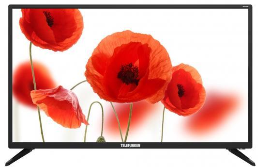 Телевизор Telefunken TF-LED32S89T2 черный цена и фото