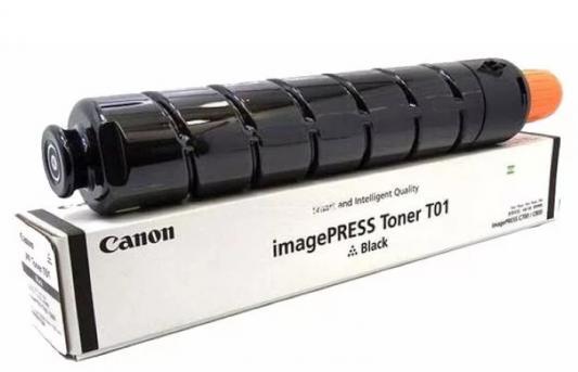 Фото - Тонер Canon T01 BK 8066B001 черный туба 1040гр. для копира IPC800 тонер туба sakura sa006r01046
